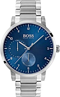 2d2a73514 Hugo BOSS Unisex-Adult Multi dial Quartz Watch with Stainless Steel Strap  1513597