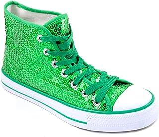 Party-Factory-Ladenburg Baskets pour Femme Vert Vert