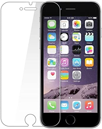 Plus Tempered Glass Screen Protector Guard for Apple iPhone 6/6S