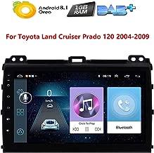 9 inch Car GPS Radio Screen Android 8.1 Car Multimedia Player Stereo 2 Din Unit Navi for Toyota Land Cruiser Prado 120 2003 2004 2005 2006 2007 2008 2009 Headunit WiFi Head Device Map Navigation