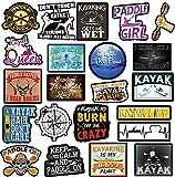 Kayak Stickers – Great Kayaking Accessories – Waterproof Stickers for Kayak...