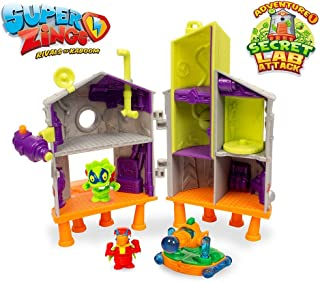 Superzings - Secret Lab Adventure 1, con 2 exclusivas figuras SuperZings , color/modelo surtido