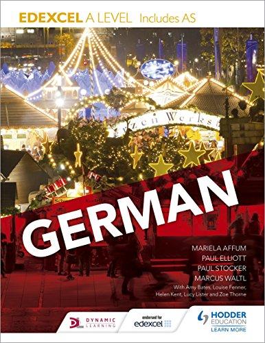 Edexcel A level German (includes AS) (Edexcel a/As German) (German Edition)