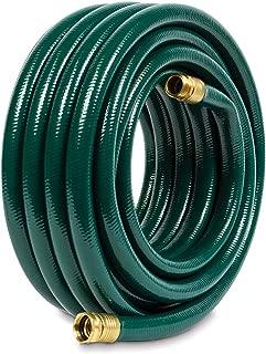 Gilmour 843501-1001 Flexogen Heavy Duty Watering Garden Hose 3/4in x 50 Feet, Green