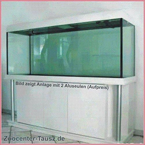 TAB Aquarienkombination mit Schrank / Aquarium 180x80x80cm / 1152L. / Glas 15mm / 2x80 Watt