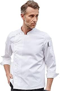 Chef's Uniform Long Sleeve Single-Breasted Chef Jacket Decoration Hotel Restaurant Western Kitchen Mens Chef Coat