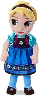 Disney Animators' Collection Elsa Plush Doll - Frozen - Small - 13 Inch