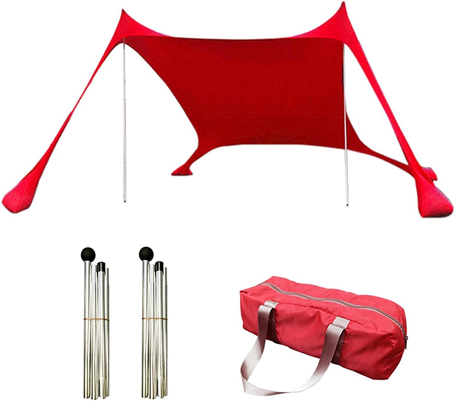 FLJYHJ Beach Tent Special price for a limited time Sun Shelter Canopy with Sandbag Cheap mail order shopping