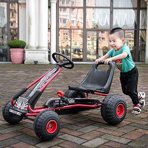Hwj Pedal Kart Niños Montar Juguetes De Cuatro Ruedas Bicicletas Actividades Al Aire Libre Y Entretenimiento PingGongHuaKeJiYouXianGongSi