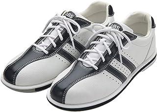 (ABS) ボウリングシューズ S-380 ホワイト・ブラック 【ボウリング用品 靴】