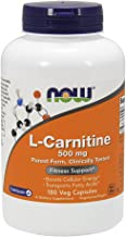 Now Foods L-Carnitine 500 mg 180 Capsules