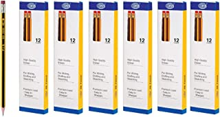 FIS HB Pencil with Eraser - 6 Packs