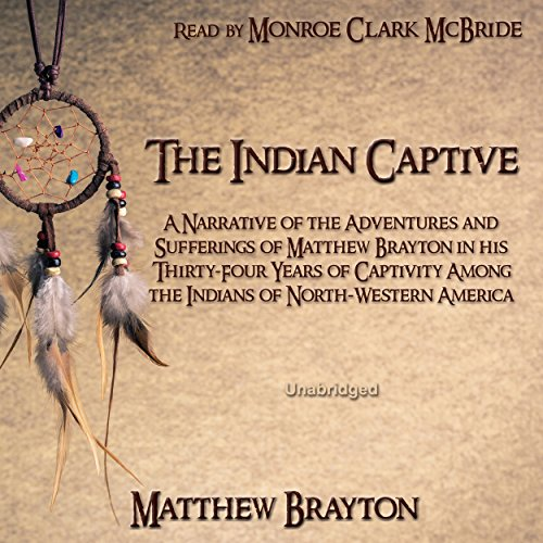 The Indian Captive audiobook cover art