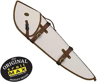 TrailMax Canvas & Leather Rifle Scabbard, Gun Case, Accommodates 26