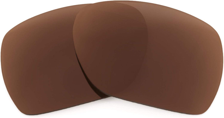 Revant Verres de Rechange pour Oakley Deviation - Compatibles avec les Lunettes de Soleil Oakley Deviation Marron Foncé - Polarisés Elite