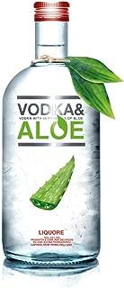 Vodka con Pulpa de Aloe Vera