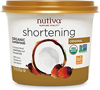 Nutiva Organic Shortening, Original, 15 oz