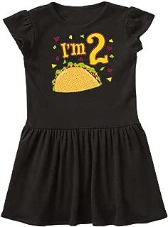 inktastic Im Two- Taco Birthday Party Toddler Dress