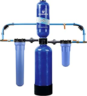 Aquasana 10-Year, 1,000,000-Gallon Whole House Water Filter, System + Pro Install Kit