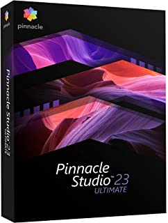 Pinnacle Studio 23 Ultimate - Advanced Video Editing and Screen Recording [PC Disc]