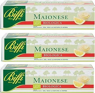 Biffi - Maionese Biologica in Tubetto 150 ml - Multipack (3x150ml)