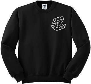 TeesAndTankYou Bitey Babe Sweatshirt Unisex