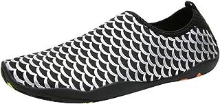 MMOOVV Herren Damen Wasserschuhe Strandschuhe Badeschuhe Barfuß Quick Dry Aqua Schuhe Schwimmschuhe