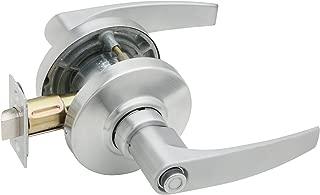Schlage AL40S JUP 626 Series AL Grade 2 Cylindrical Lock, Privacy Function, Keyless, Jupiter Design, Satin Chrome Finish