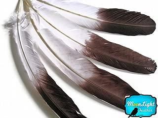 Moonlight Feather, Imitation Eagle Feathers - White Tom Turkey Rounds