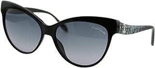 642a5c777f Roberto Cavalli RC922S Naos Women Black   Gradient Gray Cat Eye Sunglasses  48mm