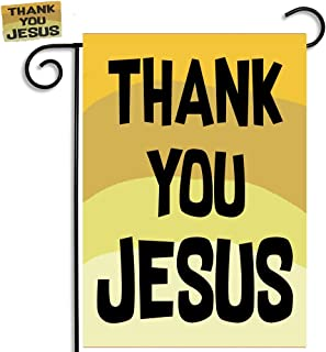 Brotherhood Thank You Jesus Signs Thank You Jesus Garden Flags and Thank You Jesus Refrigerator Magnet