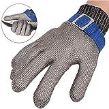 Safety Cut Proof Stab Glove , Beständiger Edelstahl-Metallgitter-Metzger Digital High,...