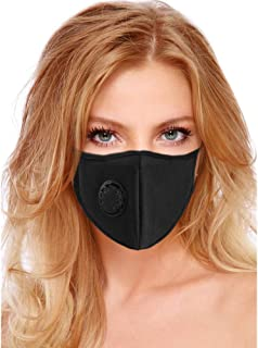 Air Pollution Mask Filter Washable and Reusable Anti-Pollution Dust Mask With Filter Valve Masks Respirator For Pollen Smoke - PM2.5 N95 Protection