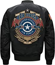 U.S. Air Force 1947 MA-1 Flight Embroidered Bomber Jacket
