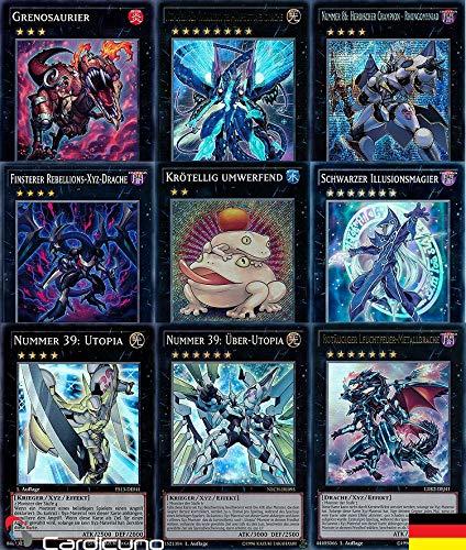 Yu-Gi-Oh! Sparangebot - 12 XYZ Monster inkl. Holo - Wie EIN Booster - Deutsch - Cardicuno