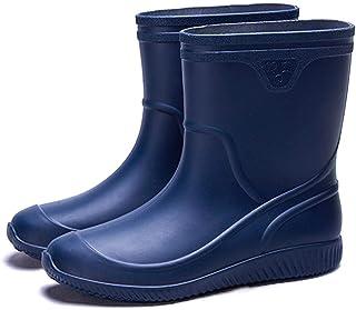 Fagum Stomil Stivali da Donna Stivali Impermeabili Caldi con Fodera in Pile Scarpe da Giardino Antiscivolo
