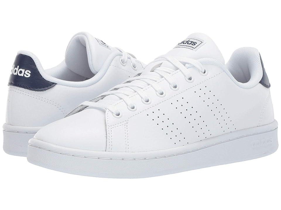 adidas Advantage (Footwear White/Footwear White/Dark Blue) Men