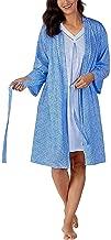 Carole Hochman Women's Jersey Knit Chemise & Robe Set
