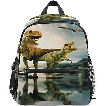 Memoryee 3D Dinosaure Impression r/éaliste Sac /à Dos pour Enfants /école Maternelle /école Primaire Toile Sac /à Dos Ordinateur Portable Cartable Sac de randonn/ée 32 x 17 x 42 cm Dinosaur01