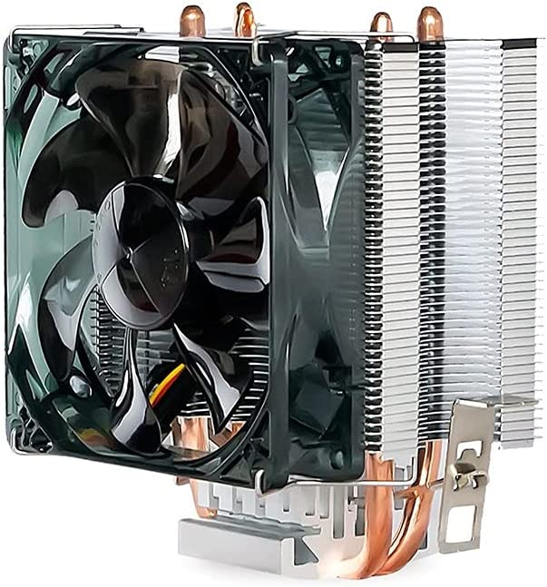 WCN Fans Ranking TOP14 CPU Popular brand Cooler with 2 Fa 120mm Contact Direct Heatpipes PWM