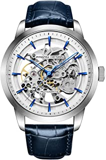 Men's Steampunk Classic Mechanical Wristwatch Automatic Skeleton Watches