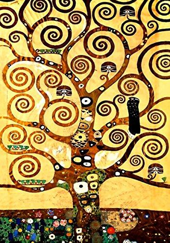 Klimt Poster Art 14 35x50 cm Poster Stampa Arte Arredamento Riproduzione su Carta Opaca Matt gr.200 papiarte