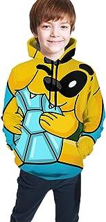 Yaxinduobao Mikecra-CK Impresión Digital 3D de Moda, Jersey para niños Ropa Jerséis Suéter Superior Sudadera con Capucha p...