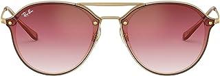 Rb4292n Blaze Double Bridge Square Sunglasses