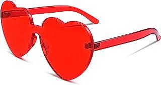 نظارات شمسية نسائية من FEISEDY بدون إطار على شكل قلب من قطعة واحدة عصرية لاف نظارات B2419