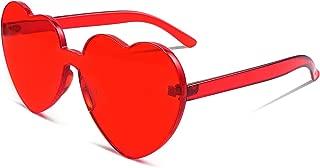 Best men's heart shaped sunglasses Reviews