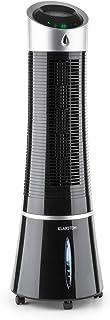 comprar comparacion Klarstein Skyscraper Ice - Enfriador de Aire 3 en 1, Climatizador evaporativo, 30W, 210m³/h, Ventilador, Humidificador, 3 ...