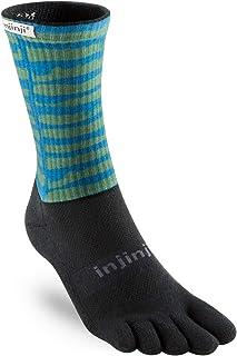 Injinji Traill Mid-Weight crew xtralife Gritty Spectrum L (44,5-47) Five toes socks