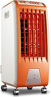 Aire acondicionado Everyday Home Ventilador pequeño, portátil para Aplicaciones domésticas Inteligentes (Color : Orange, Tamaño : 30.3 * 25.6 * 56.5cm)