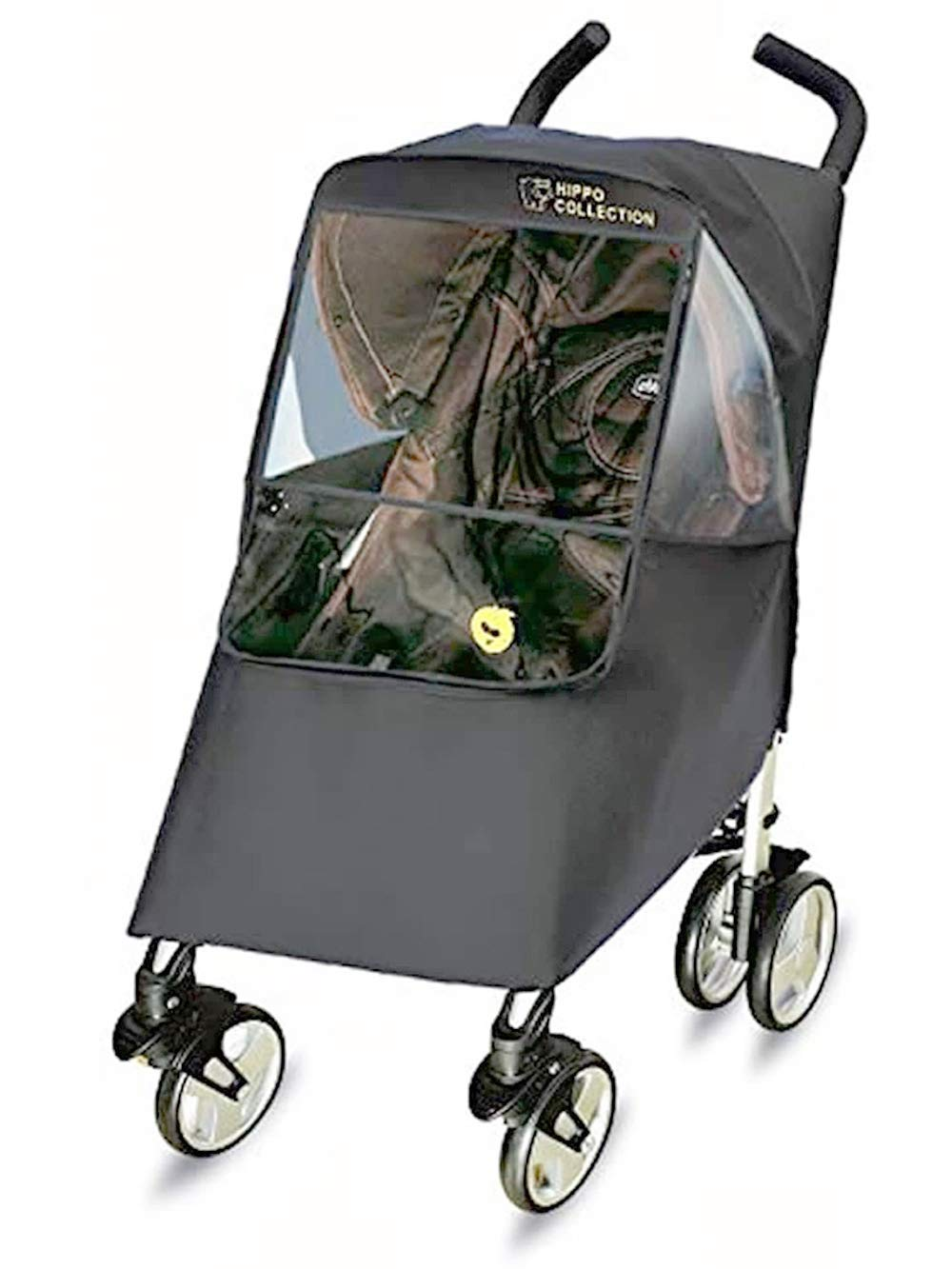 Hippo Collection Universal Stroller Weather Shield Max 47% OFF Price reduction - Gray one S